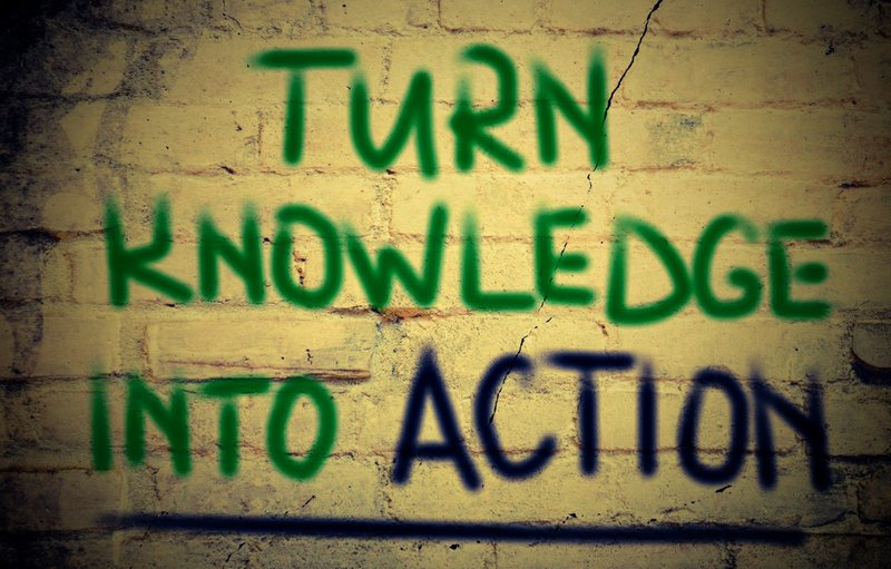 Great leaders turn knowledge into action