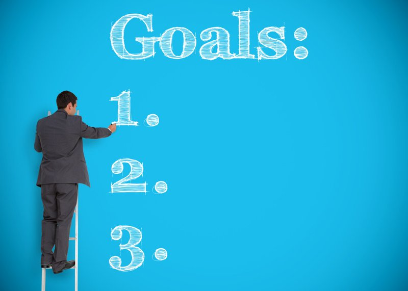 Choose between one and three big goals