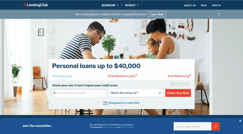 Types of Crowdfunding: The debt crowdfunding platform LendingClub