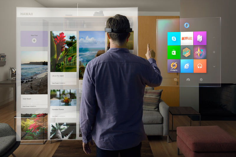 The Impact of Virtual and Augmented Reality in the Business World: Microsoft Hololens