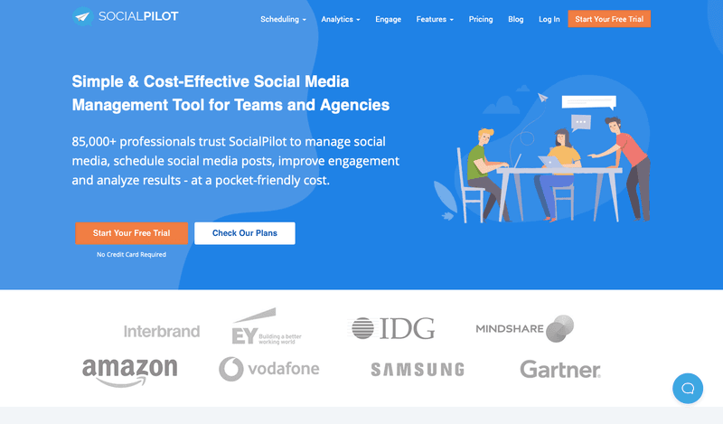 Best Social Media Management Apps: Social Pilot