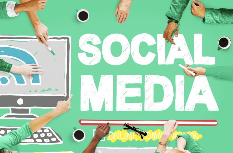 Be in every social media possible