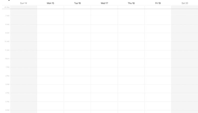 Use your digital calendar, plan your activities