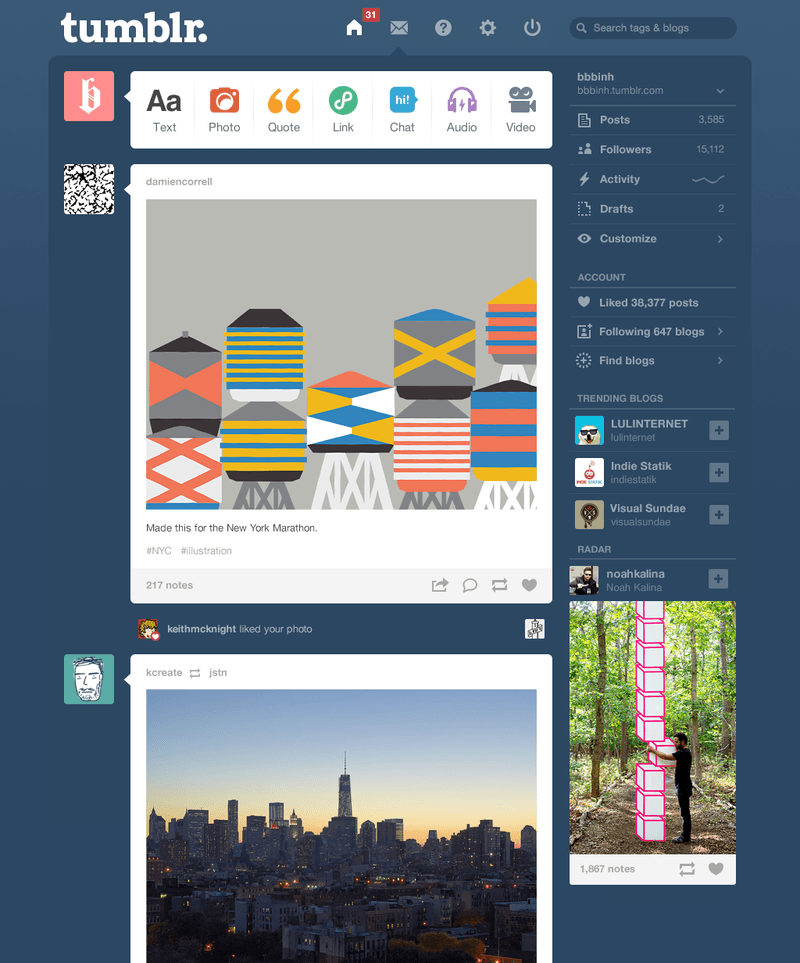 Top Social Media Sites for Business: Tumblr