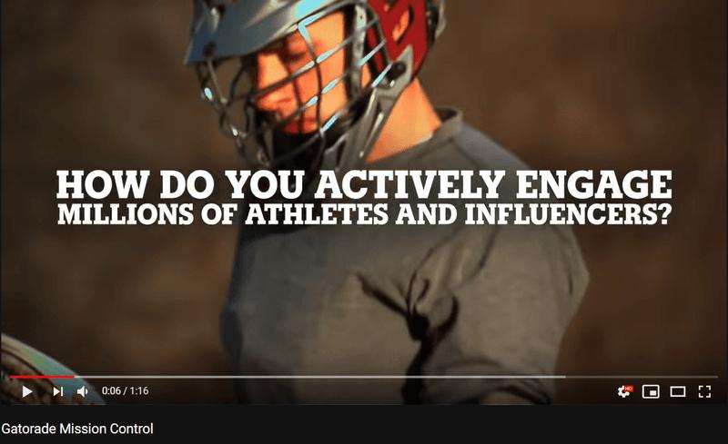 Social media command center helping Gatorade engage with athletes