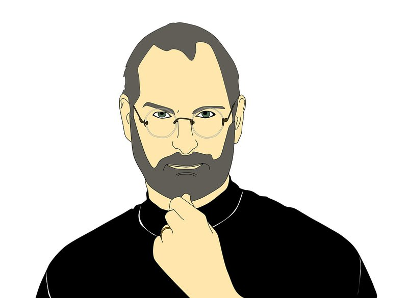 Animated image of Steve Jobs