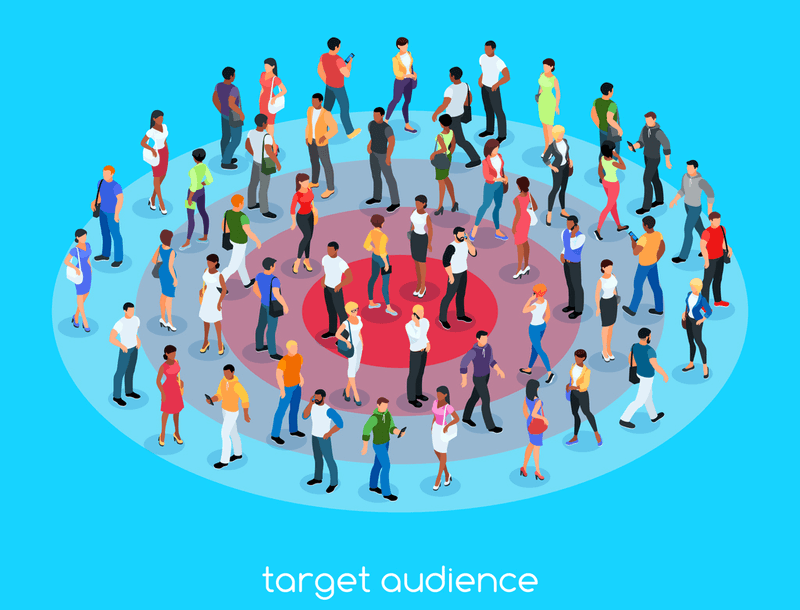 Illustration of target audience