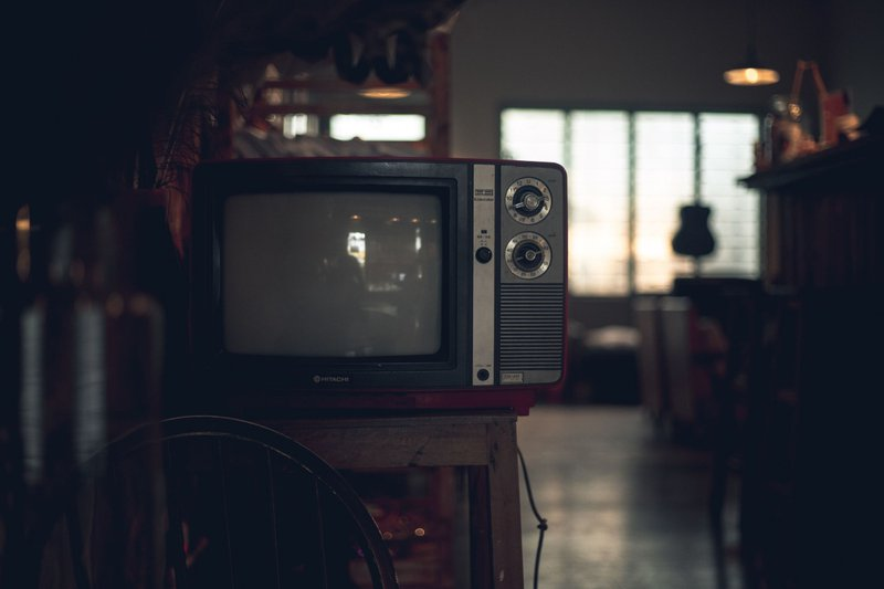 Old fashioned television