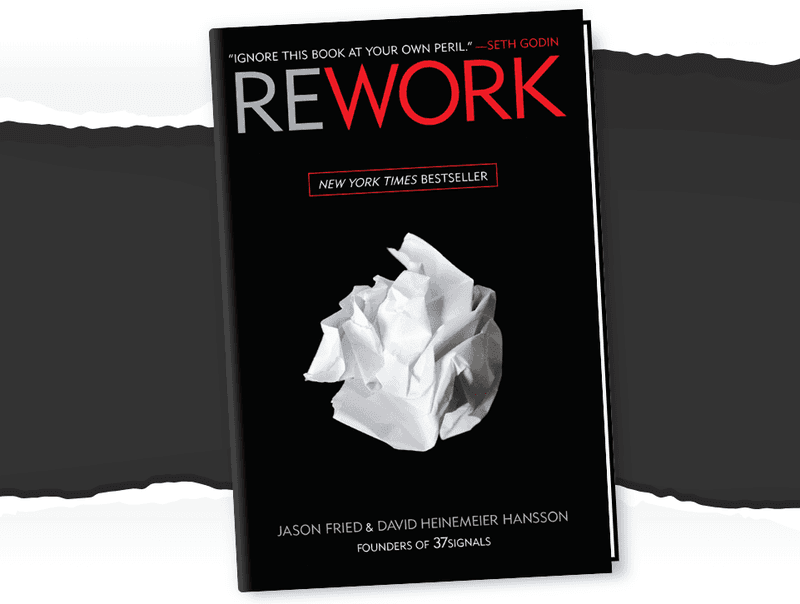 Cover page of the book REWORK