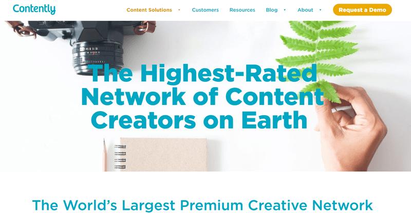 Contently website