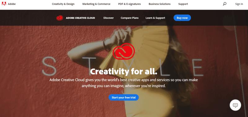 Behance website