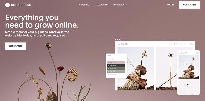 Squarespace website