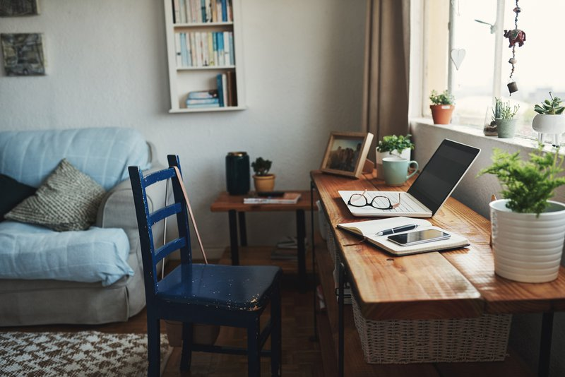 A remote internship setup.