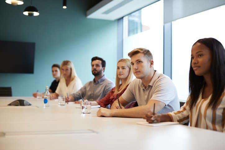 Group interviews representation set up