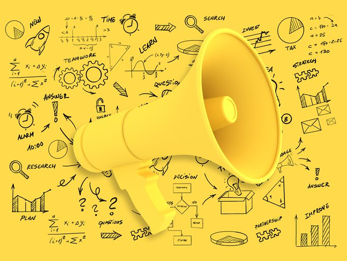 Marketing campaign strategy advertisement brand megaphone