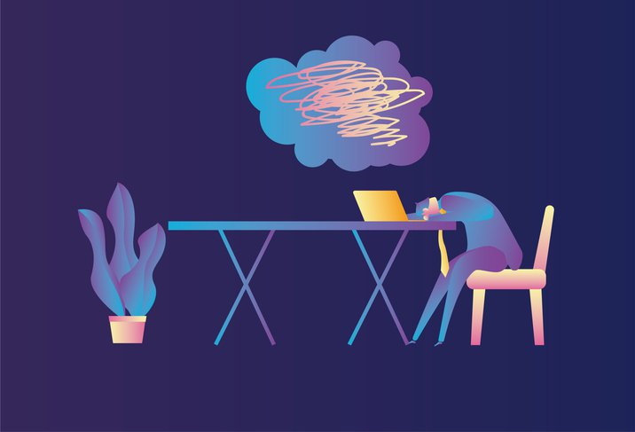 Working, Office, Sitting, Business, Using Laptop, Tired,Boredom,Illness, Occupation,Sleeping,