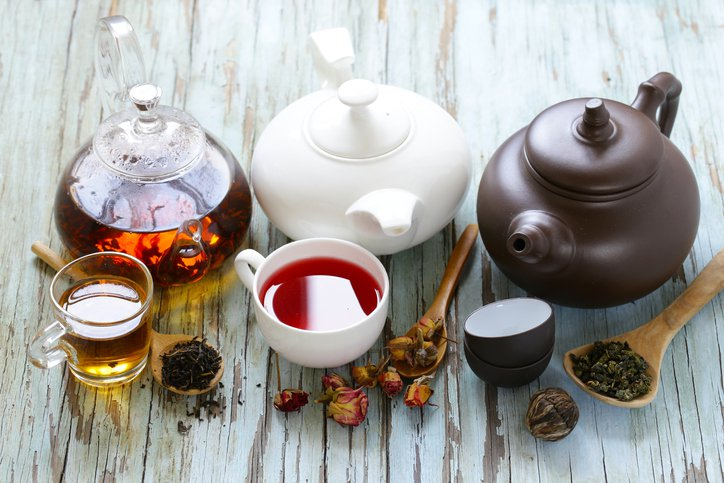 Differentiated marketing example with tea pots for different people representation