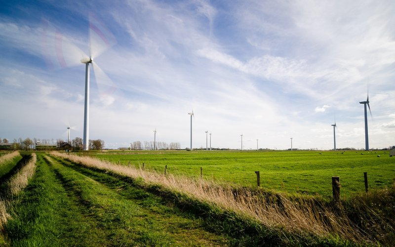 There's a boost in job opportunities in wind energy.