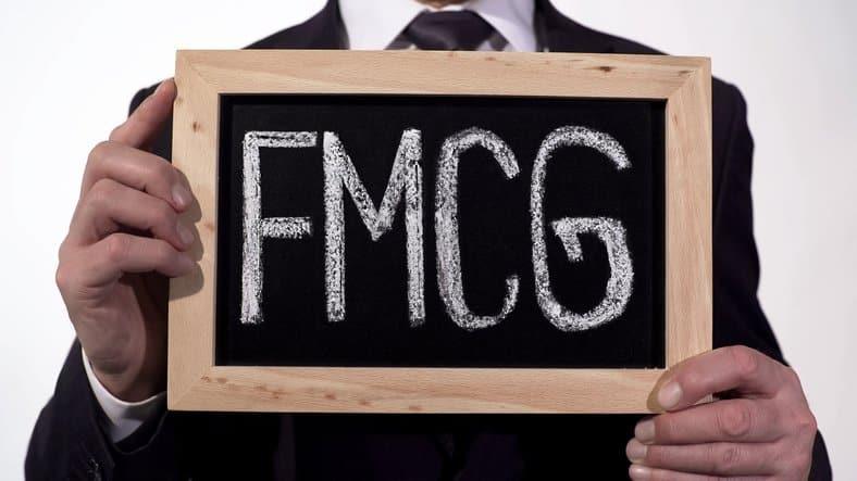FMCG written on blackboard
