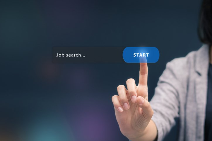Job search for rehiring concept